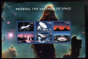 #3409 60c Space Achievemant - XF og NH - w/FREE SHIPPING