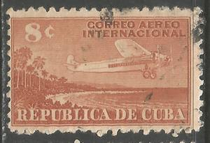 CUBA C40 VFU AIRPLANE Z4-135-6