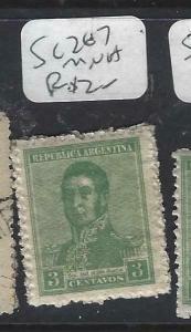 ARGENTINA (P1204B)  3 C  SC 267  MNH