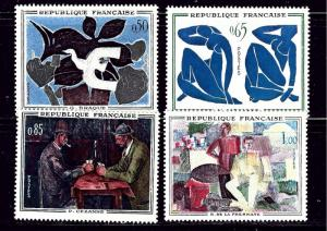France 1014-17 MNH 1961 Paintings