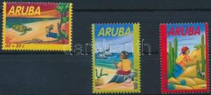 Aruba stamp Youth welfare set MNH 2002 Mi 298-300 WS231170