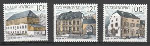LUXEMBOURG #775-7 MINT NEVER HINGED COMPLETE