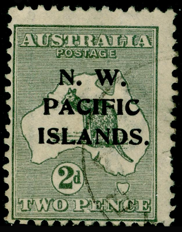 AUSTRALIA NEW GUINEA SG73, 2d grey, USED.  Cat £65.