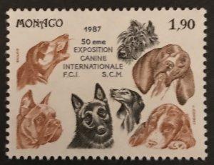Monaco 1987 #1573, MNH, CV $2
