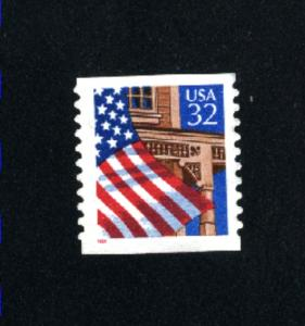 USA # 2913  1  used 1995-97 PD .08
