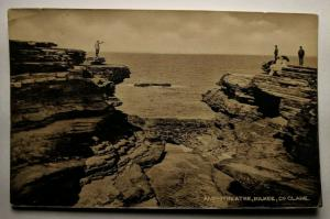 Vintage 1917 Amphitheater Kilkee Clare Real Picture Postcard Cover