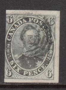 Canada #5b Used With Light Cancel **With Certificate**