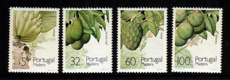 Portugal madera 139 - 142  MNH cat $ 4.00