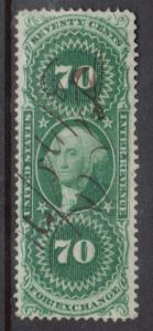USA #R65d VF Used