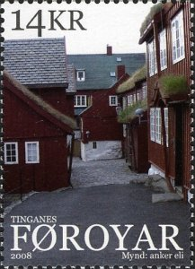 Faroe Islands 2008 #496 MNH. Tinganes