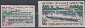 Cameroon stamp Folklore and tourism imperf set 1965 MNH Mi 444-445 WS178943
