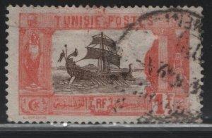 TUNISIA , 52, USED, 1906-26 Carthaginian Galley