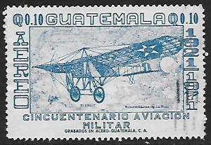 Guatemala # C476 - Bleriot's Plane - used   -{BRN17}