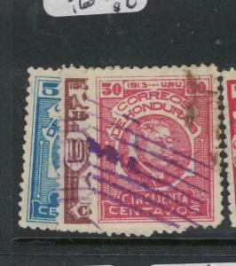 Honduras SC 153, 158, 160 VFU (1dwk)