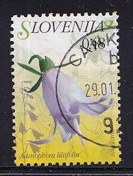 Slovenia  #697   used   2007   flora   48c