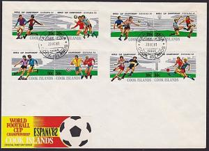 COOK IS 1981 World Cup Football commem FDC..................................3931
