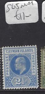 CAYMAN ISLANDS (P1111B)   KE  2 1/2D   SG 5   MOG