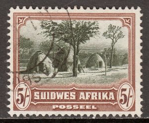 South West Africa - Scott #118b - Used - SCV $3.25
