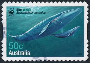 Australia 2006 50c Endangered Species, Whales - Blue Whale S/A SG2664 Used 2
