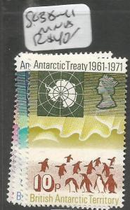 British Antarctic Territory SC 38-41 MNH (7chy)