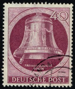 Germany #9N74 Freedom Bell; Used (3Stars)