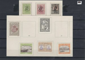 Romania 1913-19 Mounted Mint Stamps Ref: R4313