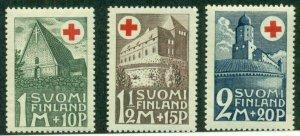FINLAND #B5-7, Mint Never Hinged, Scott $42.50