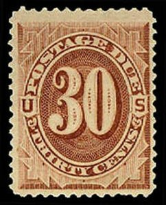 U.S. POSTAGE DUE J6  Mint (ID # 31109)