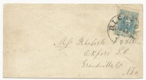CSA Scott #2 Patterson Pos 25 Star in O Richmond, VA CDS Type 3g Oct 28, 1862