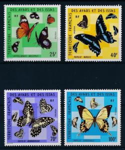 [65631] Afars and Issas 1975 Butterflies MLH