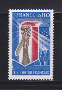 France 1521 Set MNH Hand Holding Torch and Sword