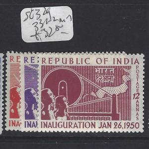 INDIA   (P0907B) KGVI  SG 329, 331-2   MOG