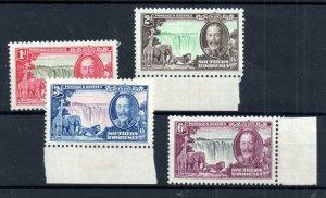 Southern Rhodesia 1935 Silver Jubilee LHM set SG31-34 WS18724