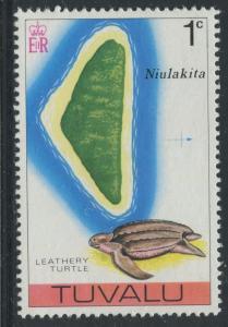 Tuvalu - Scott 23 - Pictorial Definitives -1976 - MNH - Single 1c Stamp