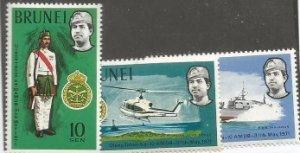 Brunei Scott #162-4*nh nh (1978)