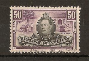 Br Honduras 1938 50c SG158 Fine Used