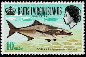 British Virgin Islands 1968 Fish MNH