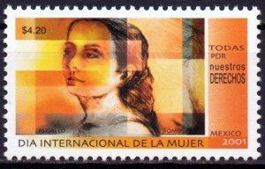 Mexico. 2001. 2919. Women's Day. MNH.