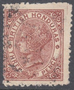 BR HONDURAS  An old forgery of a classic stamp..............................C930