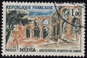 France - 1961 - Scott #1013 - used - Medea Gates