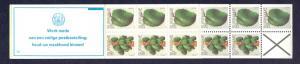Surinam 1980  MNH Booklet  5a  papaya left