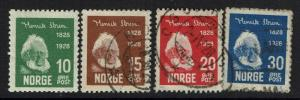 Norway SC# 132-135, Used, 132 Mint Hinged - Lot 061917