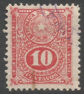PARAGUAY 197 VFU L905-1