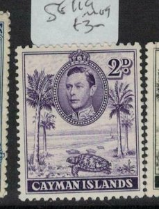 Cayman Islands SG 119 MOG (10eei)