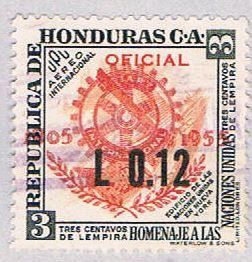 Honduras 240 Used Rotary 1955 (BP3073)