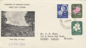 Norfolk Island 1960 FDC J5703