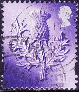 GREAT BRITAIN Scotland 1999 QEII Europe Purple SGS96 FU