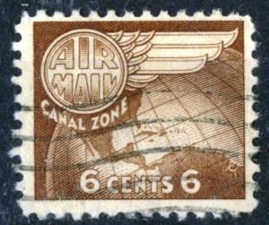 Canal Zone - SC #C22 - Used - 1951 - Item CZ045