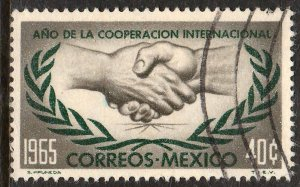 MEXICO 964, International Cooperation Year. Used.VF. (97)