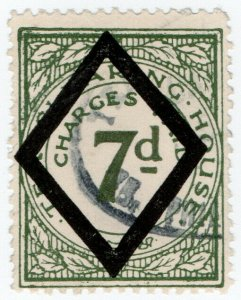 (I.B) George V Revenue : Tea Clearing House 7d